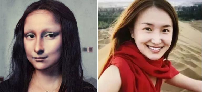 太震撼了!重庆27岁女生用化妆技巧,变脸蒙娜丽莎!