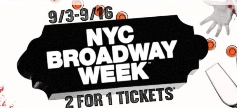 百老汇周买一送一,24部经典剧目等你看!快抢票啊