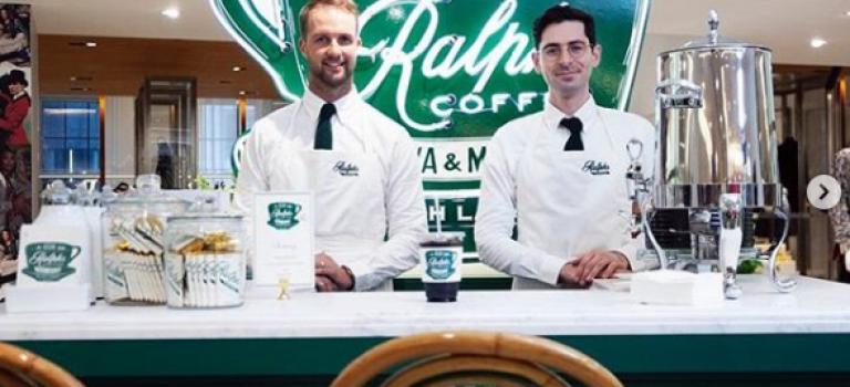 纽约客们!文艺又小资的Ralph Lauren品牌咖啡店又回来啦~~还有冰淇淋哦!