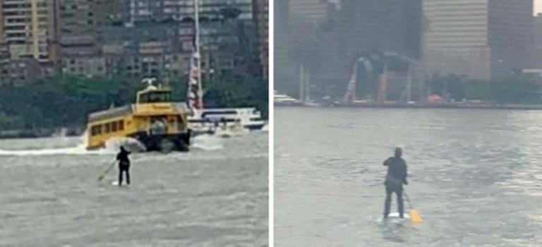 紐約男子游泳渡河上班?只為了逃避糟糕無比的紐約地鐵…