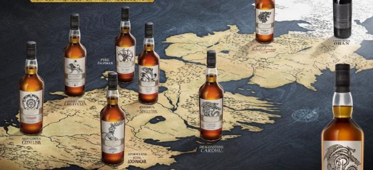 《权力的游戏》威士忌,7大家族+守夜人+异鬼,酷到每一瓶都想拥有!