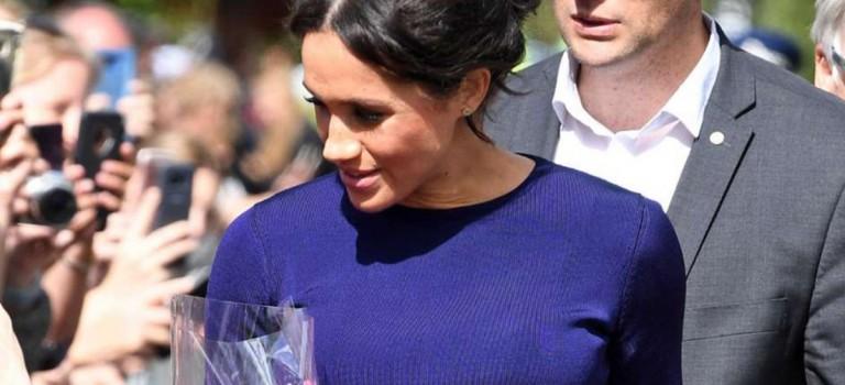 梅根王妃又破王室底線!最新裙裝竟然露出底褲