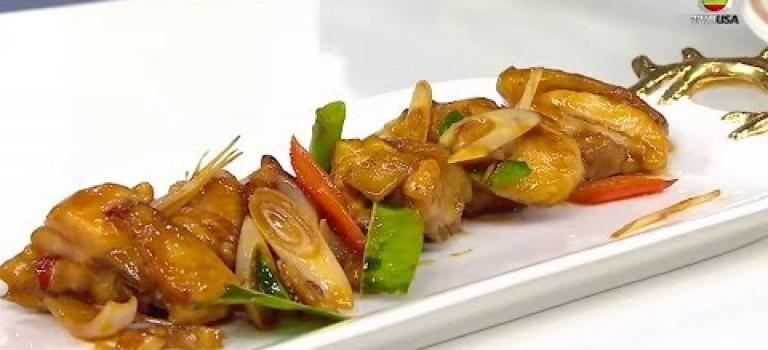 香茅檸葉燜雞- 睇片學煮餸