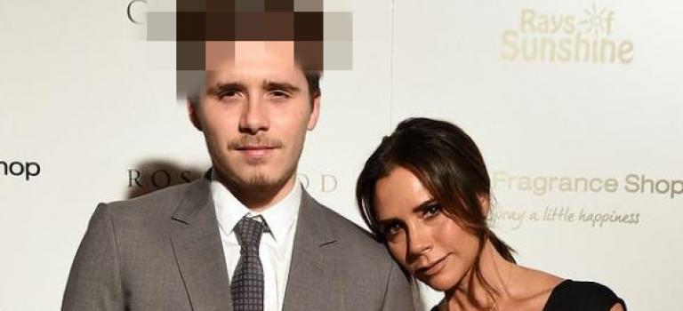 布魯克林參加慈善晚宴,迷之髮型遭瘋狂吐槽:「40 歲的老男人!」