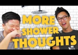 Mind Blowing Shower Thoughts – Lunch Break!