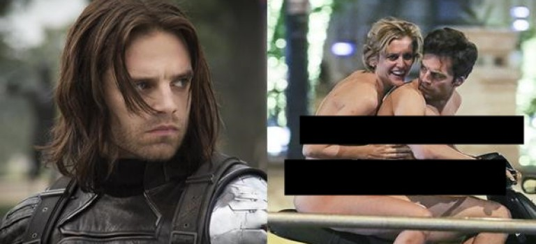 「酷寒戰士」賽巴斯汀·斯坦為戲犧牲超大,與女主角全裸在路上騎機車!