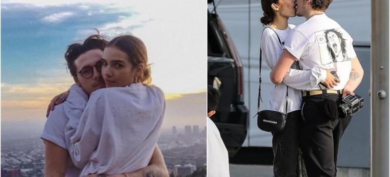 布魯克林和新女友刻意放閃高調熱吻,網友吐槽「沒眼看」!