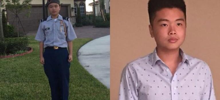 华裔小英雄Peter Wang命丧校园枪击,民众请愿为他追颁总统自由奖