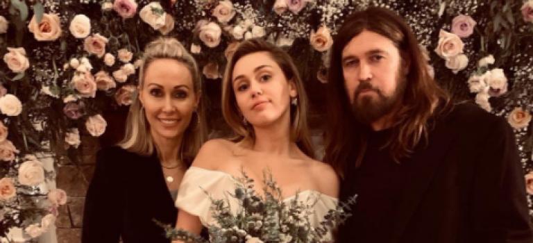 小天后Miley Cyrus更多婚禮現場曝光!新娘自爆白裙熱舞視頻