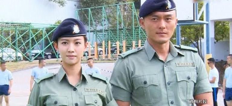 網劇拍攝花絮大公開 鐵探CP蔡思貝楊明再合作
