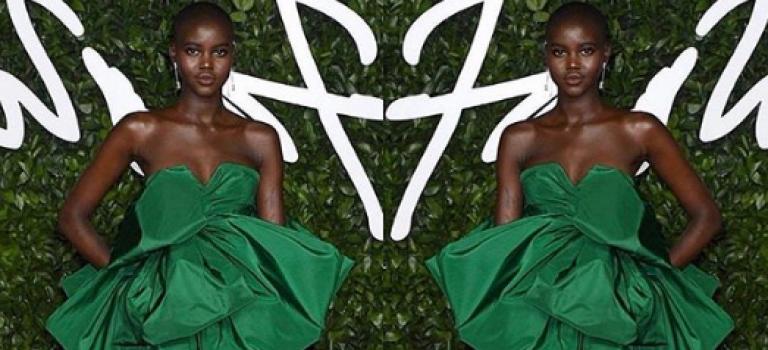 年度最佳模特出爐!不是網紅,而是來自非洲難民營的她!