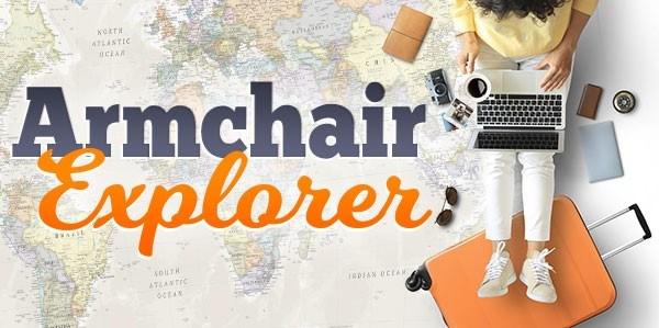 armchair explorer logo