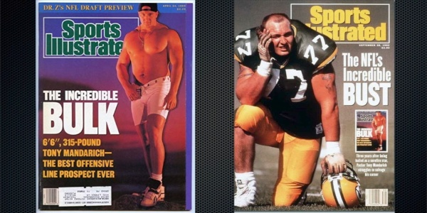 Our American Network - Tony Mandarich Was NFL's Biggest Bust, Then He  Rebuilt His Life