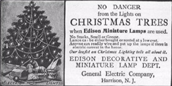 When Were The First Electric Christmas Lights Used.Our American Network Thomas Edison Invented Christmas