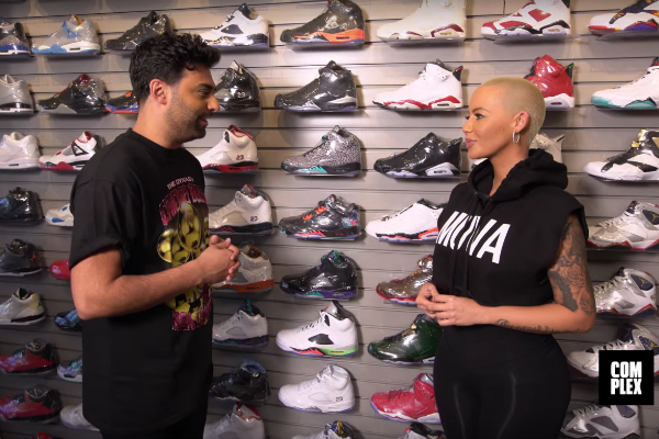 amber-rose-sneaker-shopping