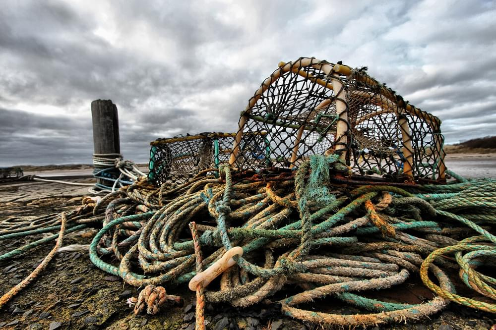 lobster trap in maine