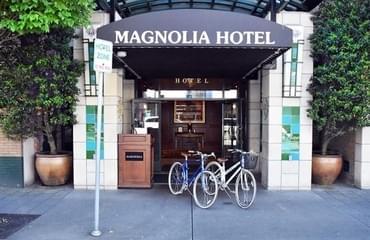 Magnolia Hotel bikes