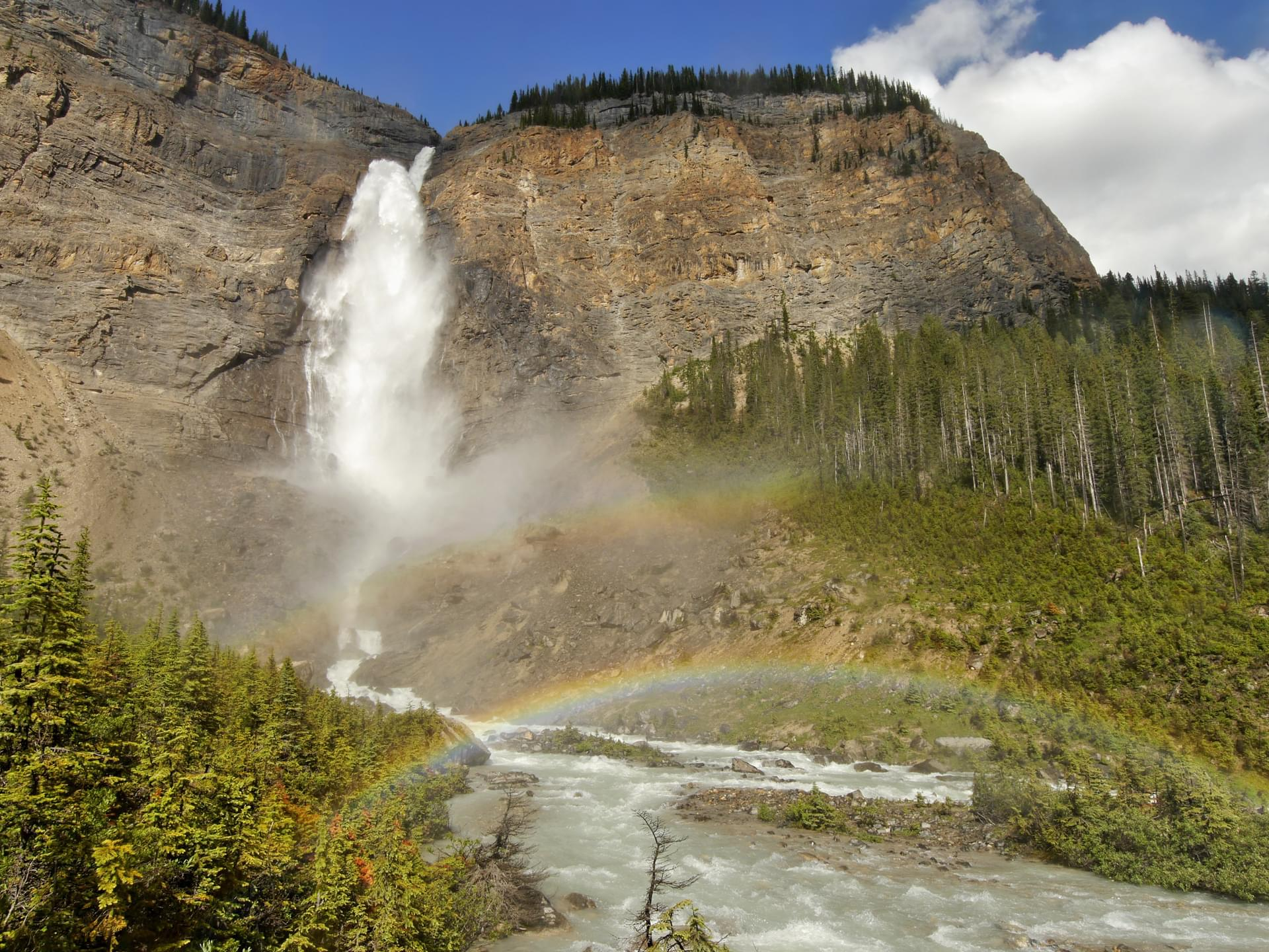 canada takakkaw falls in yoho national park