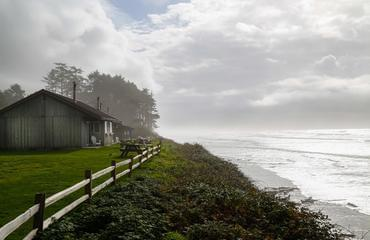 Overlook of Bluff Cabins at Kalaloch Lodge