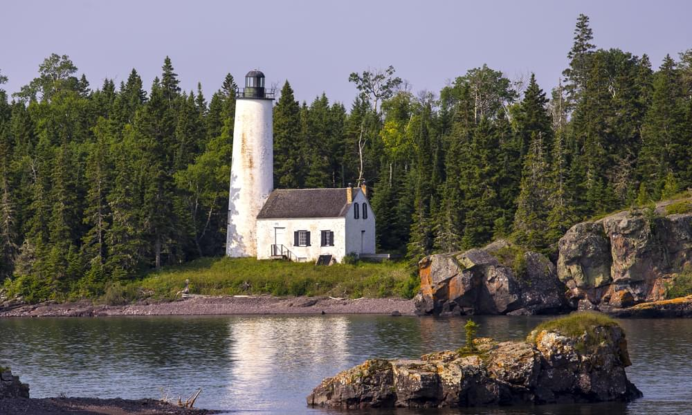 Rock Harbor lighthouse Isle Royale