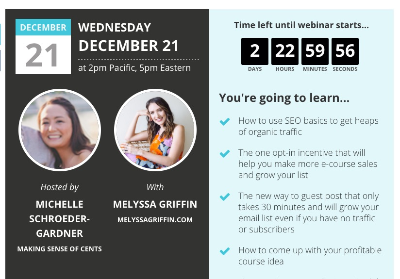boosting traffic with webinars