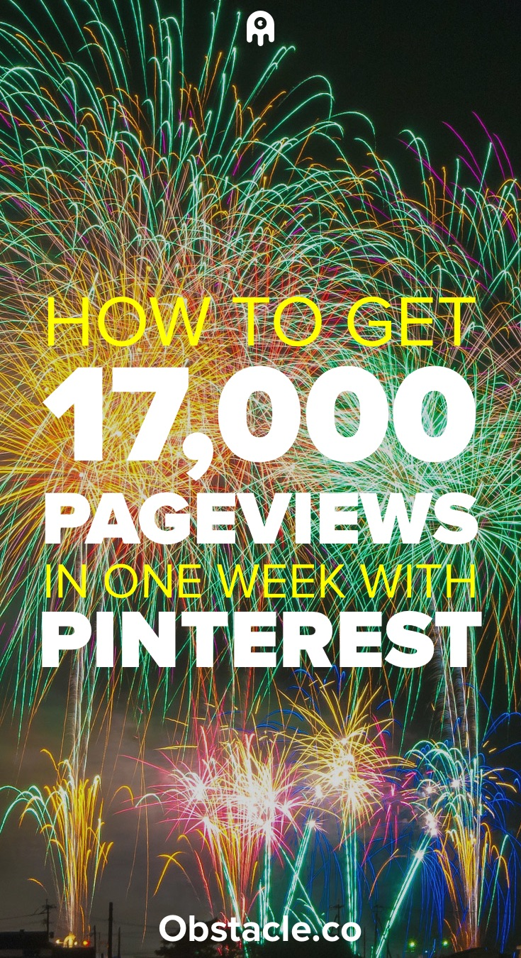 How to get 17,000 Pageviews in One Week Using Pinterest
