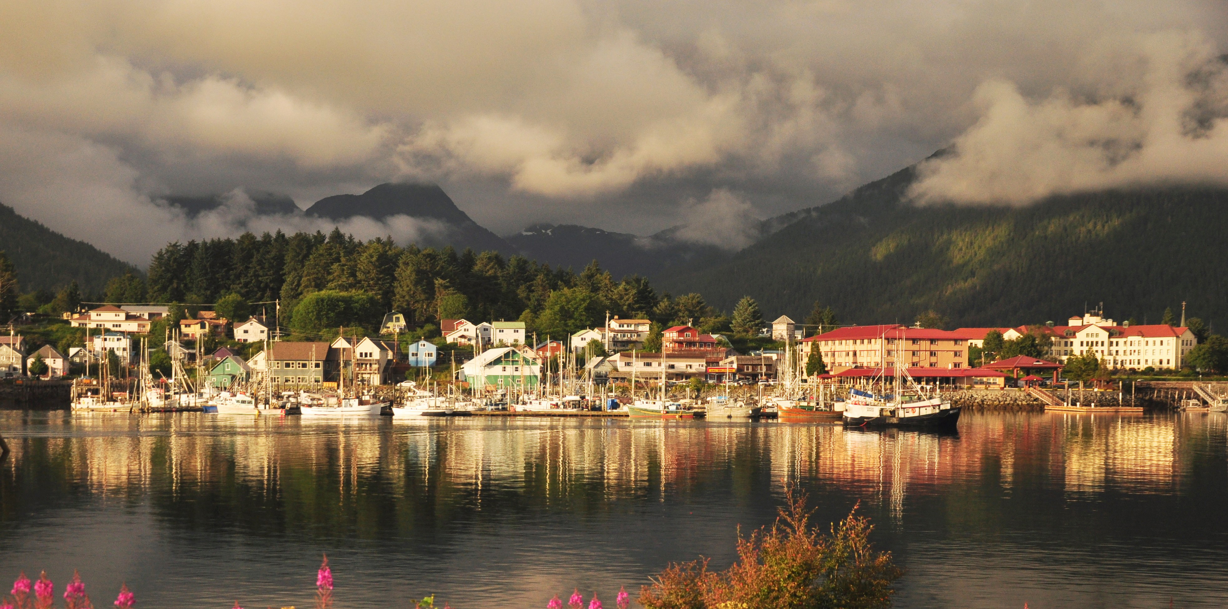 Town of Sitka. Credit: Berett Wilber.