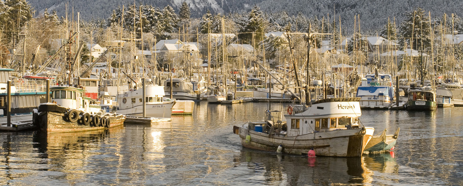 Harbor in Sitka. Credit: James Poulson.