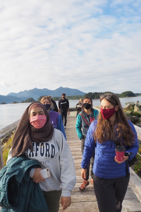 Students in Sitka