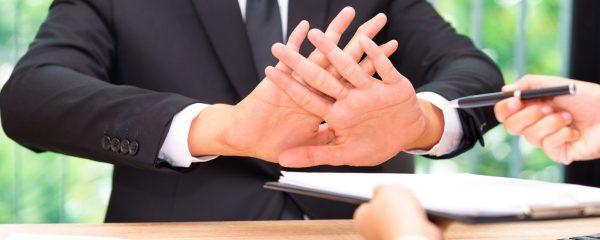 3 formas de rechazar una oferta de trabajo
