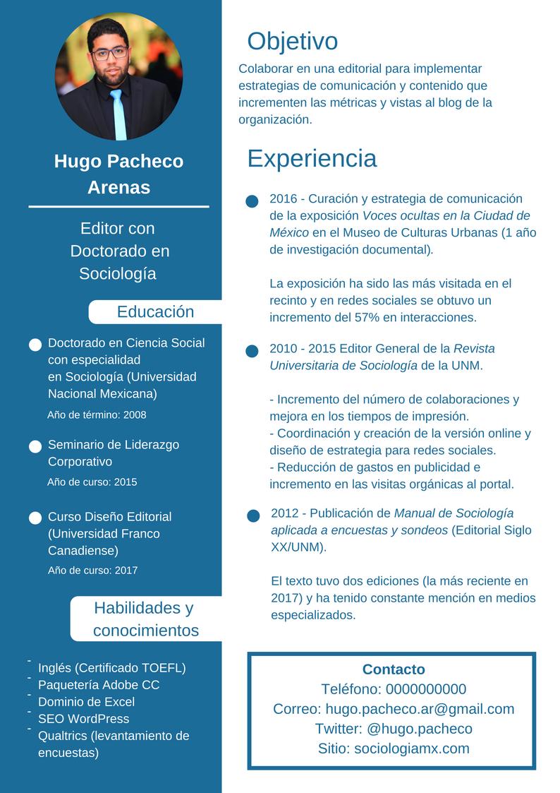 Cómo redactar un CV si eres freelancer o académico? ¡Te damos tips!