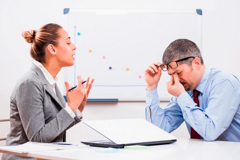 Acta administrativa en el trabajo