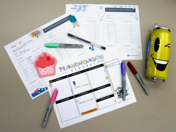 Descarga GRATIS tu planificador semanal y planificador de gastos 2019