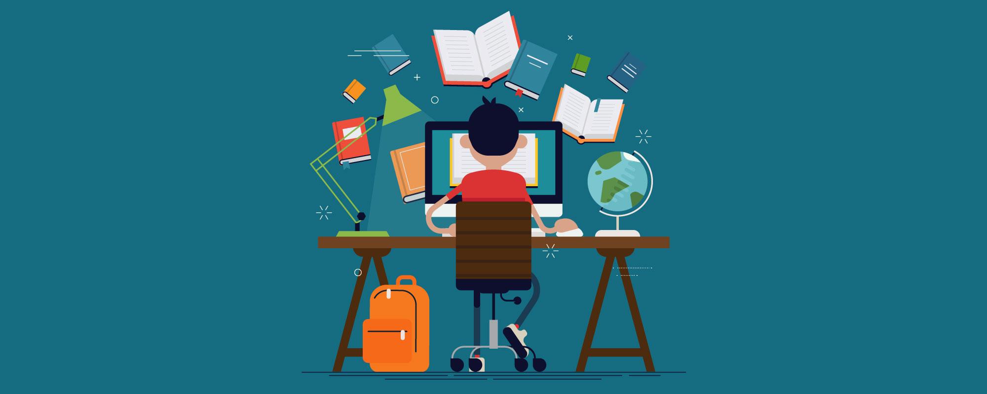 Desventajas de estudiar en línea y ventajas - Blog OCCMundial