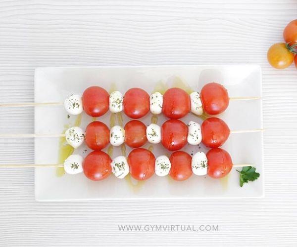 Banderilla tomate y queso