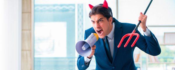 ¿Qué debes hacer si tienes un jefe tóxico?