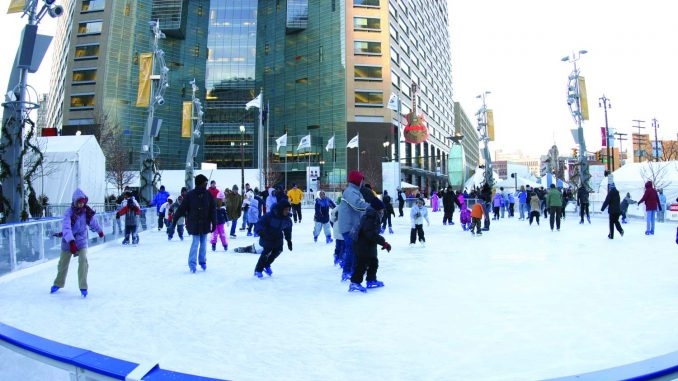 campus martius detroit skating