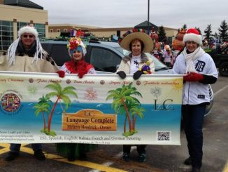 Language Complete in Rochester MI holiday Parade
