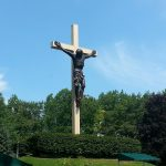 Cross in The Woods, Indian River, Michigan