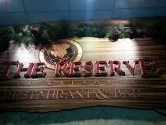 kalahari restaurant the reserve