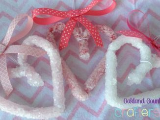 Valentine's Day Craft - Crystal Borax Hearts