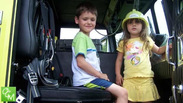 kids truck event