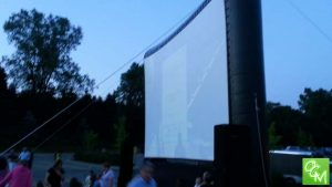Clarkston Movies in the Park @ All Saints Cemetery