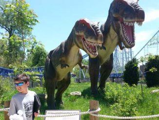 Dinosaurs Alive Cedar Point