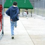 Paradise Park soccer cage