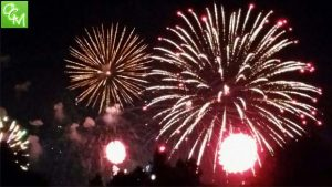 Downtown Detroit Ford Fireworks