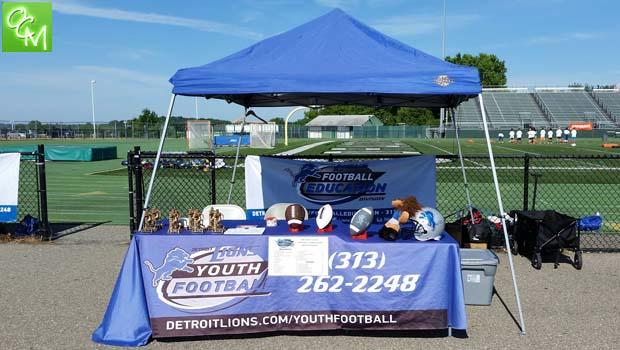 e6e57ca5 Detroit Lions Football Summer Camps 2019 | Oakland County Moms