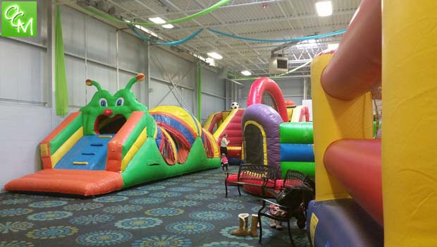 Inflatable Playspaces