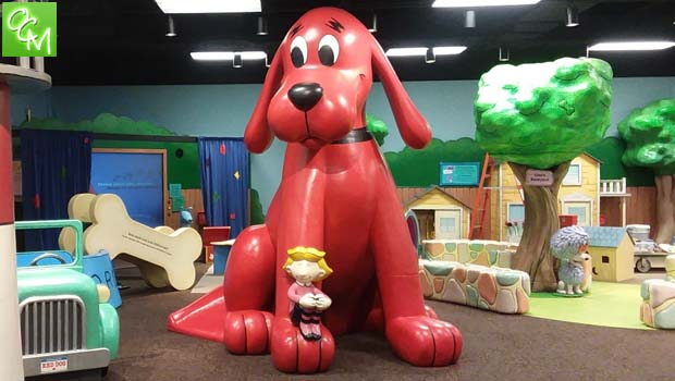 Phenomenal Adventures With Clifford The Big Red Dog Exhibit At The Machost Co Dining Chair Design Ideas Machostcouk