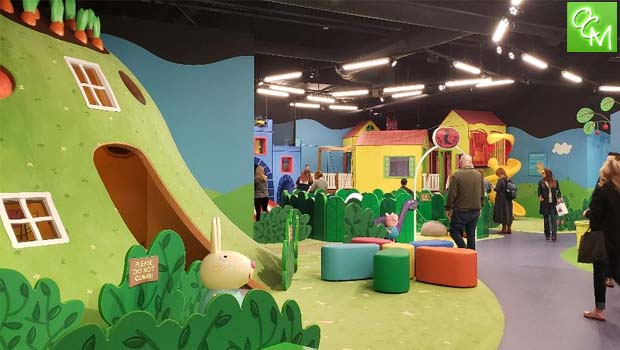 Peppa Pig World Of Play Great Lakes Crossing Oakland County Moms